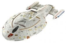 A model of a space cruiser from Star Trek.