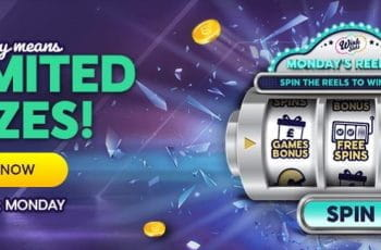 The Reel Deal Monday bonus from Wink Slots.