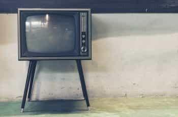 A retro television.