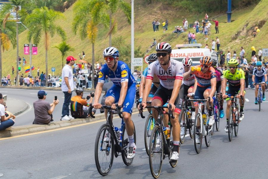 A bike race in Colombia.