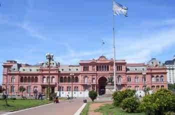 The Casa Rosada in Buenos Aires, Argentina.