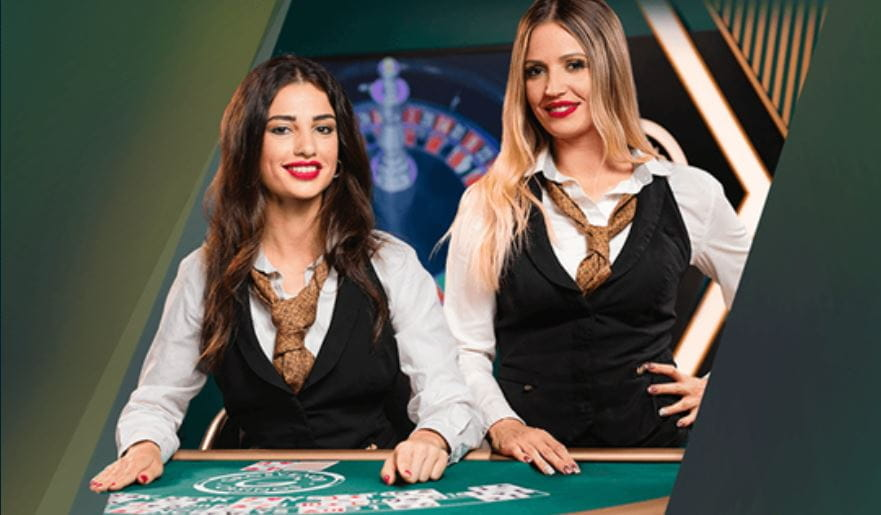 Two live dealers at Grosvenor.