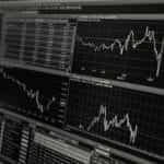 Stock price graphs.