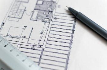 Architect blueprint.