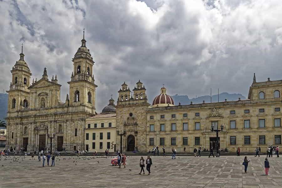Katedral Primada de Colombia di Bogotá, Kolombia.