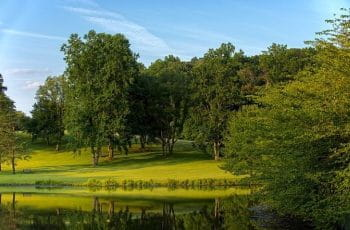Meadowlark Botanical Gardens in Virginia, US.