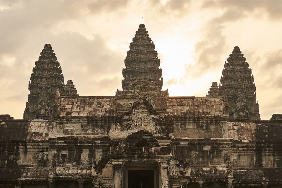 Temples at Siem Reap.