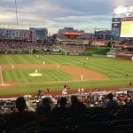 Stadion Washington Nationals di Washington, DC, AS.