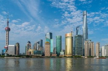 Shanghai City Coastline.