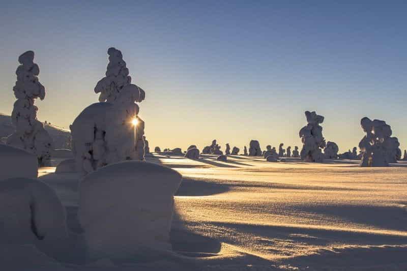 Wilayah Lapland paling utara Finlandia.
