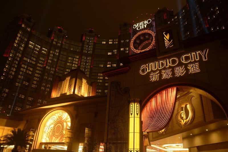 Hotel di pusat kota Makau.