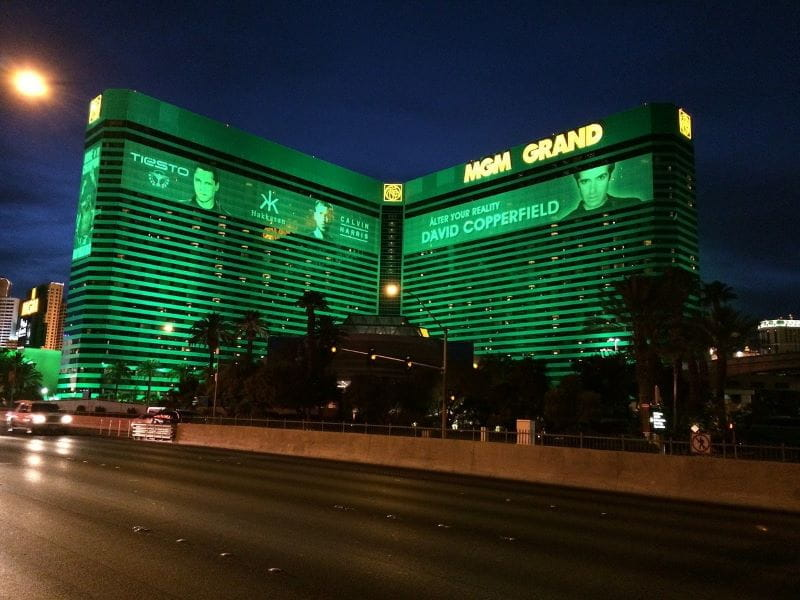 Kasino MGM Grand di Las Vegas.