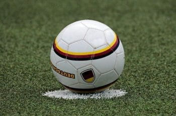 Football on the spot.