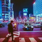 The streets of Japan.