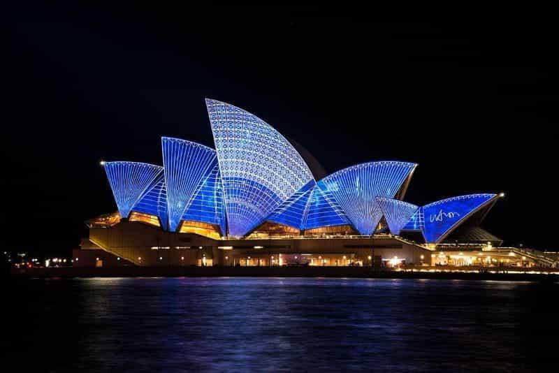 Pelabuhan Australia Sydney.