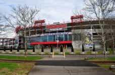 Nissan football stadium in Nashville, Tennessee.