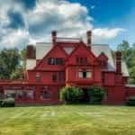 Rumah Thomas Edison di New Jersey, AS.