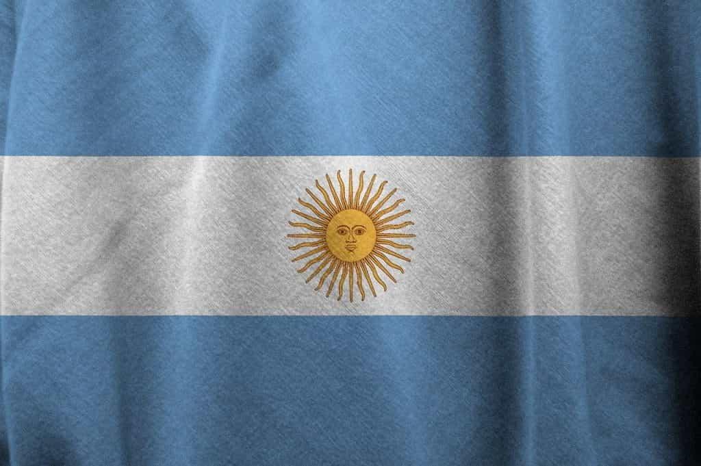 Bendera Argentina.