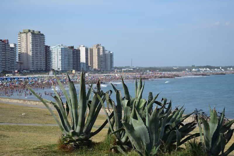 Pantai di Miramar, Buenos Aires, Argentina.