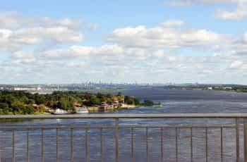 Rio Paraguay in Asunción, Paraguay.