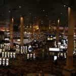 Lantai kasino di Las Vegas, Nevada.