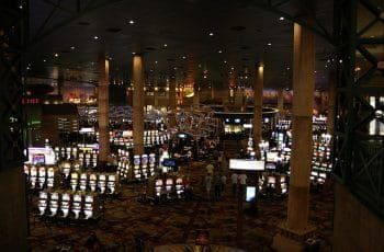 A casino floor in Las Vegas, Nevada.