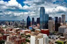 Dallas downtown district.