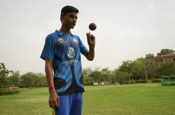 Indian cricket player.