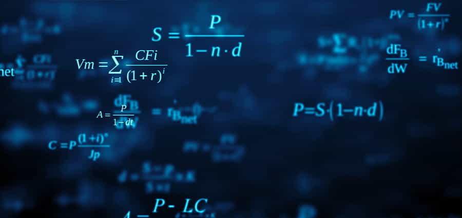 Mathematical formulae.