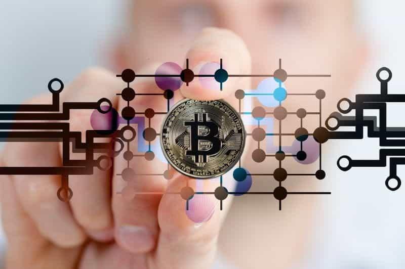 Blockchain Bitcoin.