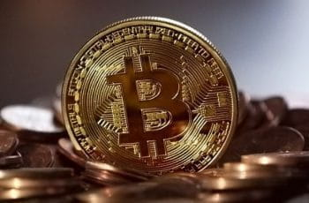 Bitcoin coin.