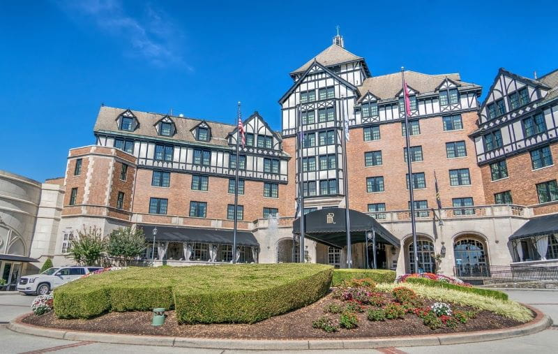 Hotel Roanoke di Virginia.