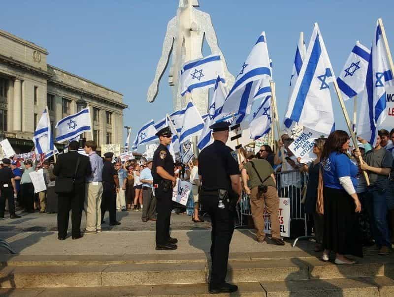 Demonstrasi di Israel.