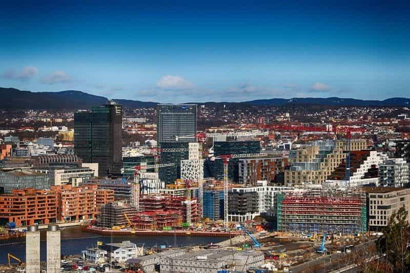 Ibukota Norwegia, Oslo.
