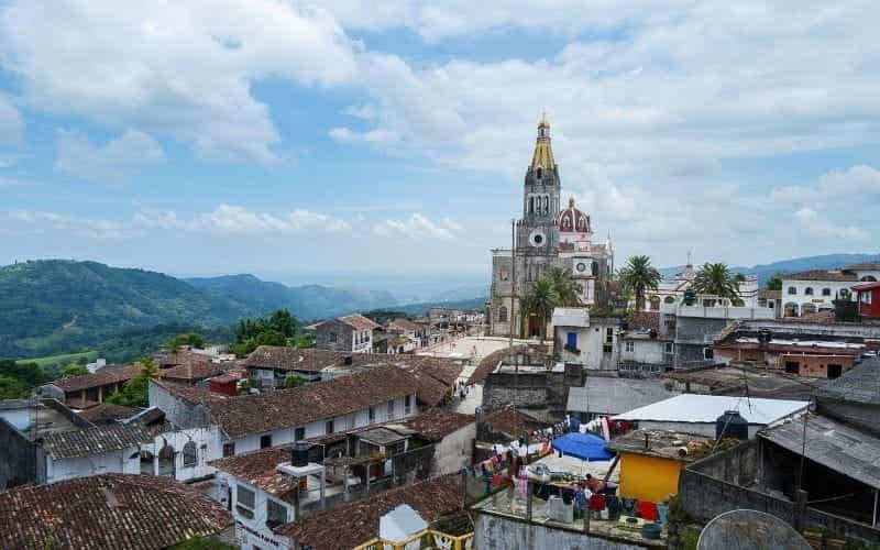 Puebla di Cuetzalan, Meksiko.
