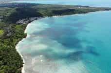 The coast of Puerto Rico.