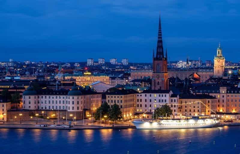 Ibu kota Swedia, Stockholm.