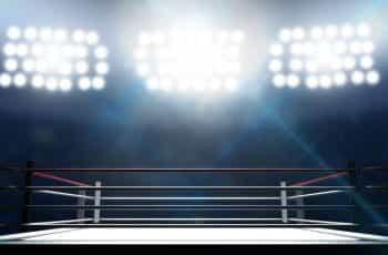 A wrestling ring.