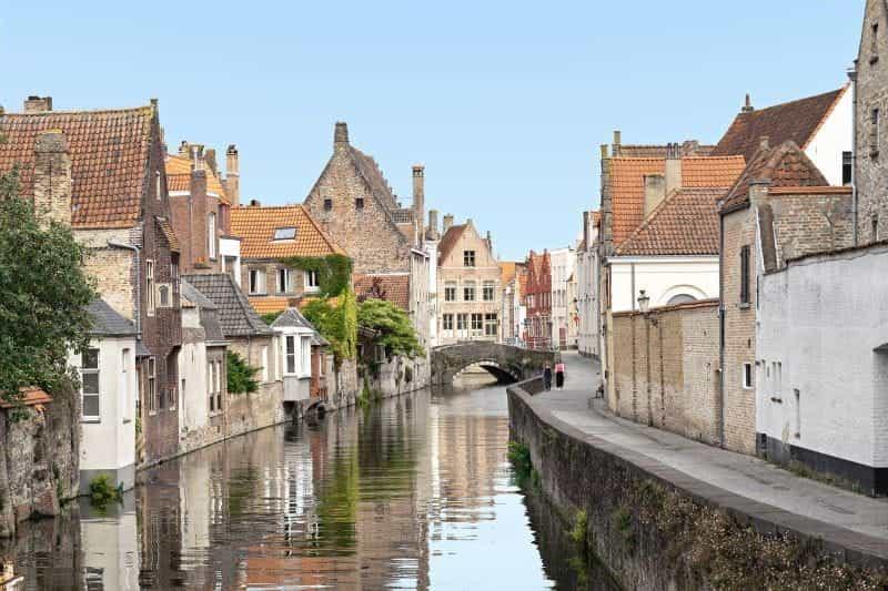 arsitektur Brugge.