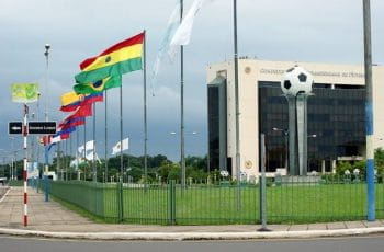 Headquarters of the South American Football Confederation, Conmebol.