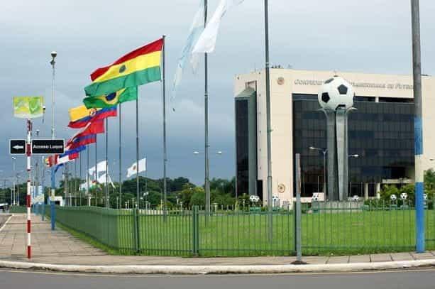 Markas Besar Konfederasi Sepak Bola Amerika Selatan, Conmebol.