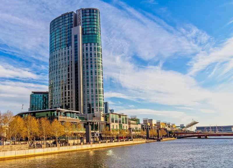 Menara Crown Resorts di Melbourne.