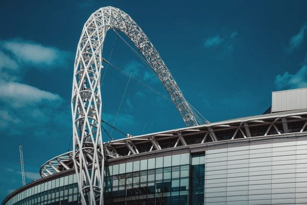 Stadion Wembley di London.