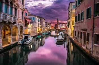 Venice Grand Canal.
