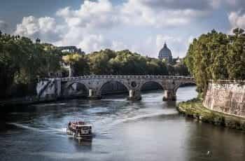 Rome scenic architecture.