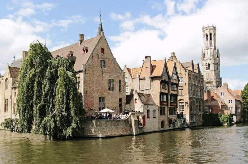 Belgium 1800s Architecture.