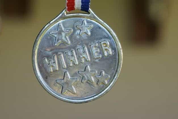 Medali Pemenang.
