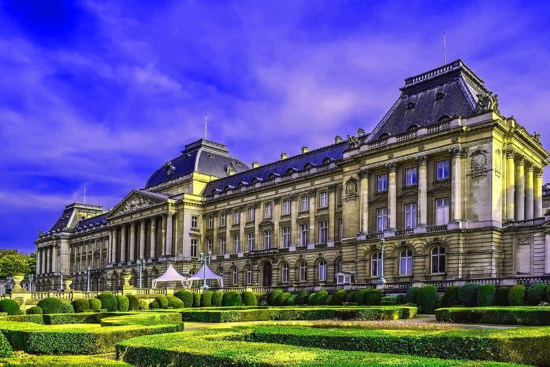 Istana Kerajaan di Brussel.