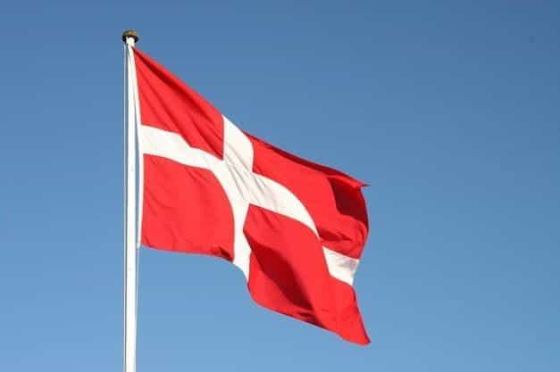 Bendera Denmark.