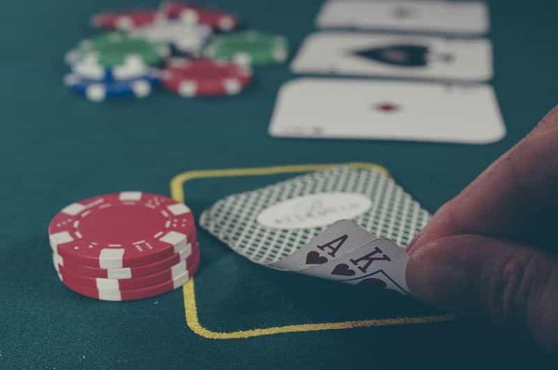 Blackjack di Kasino.